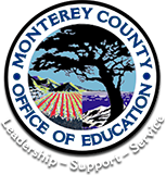 Round logo for Monterey County Office of Education.