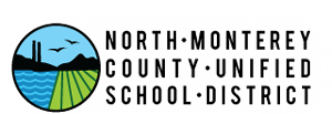 Circular logo for North Monterey County Unified School District.