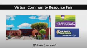 Virtual Community Resource Fair Picture