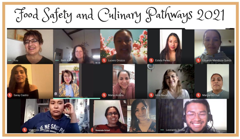 Screenshot of Food Safety Class